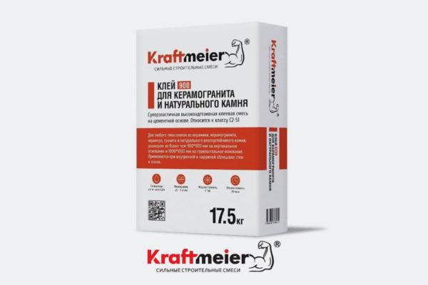 Клей для керамогранита и натурального камня Kraftmeier 900