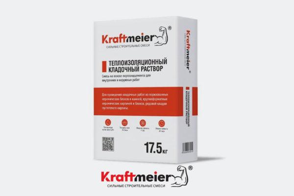 Кладочный раствор теплоизоляционный Kraftmeier